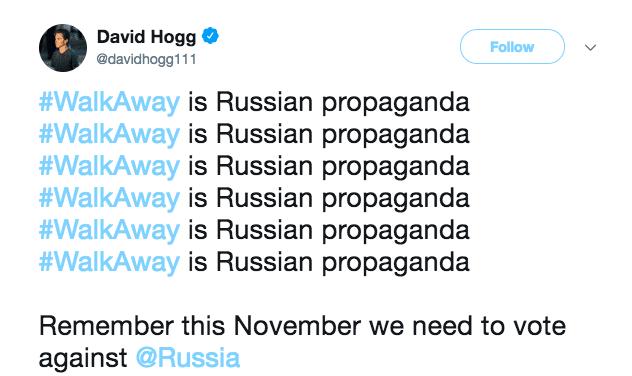David Hogg Tweet