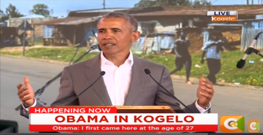 Umm What Obama Says He's the 'First American President From Kenya' In Foreign Speech