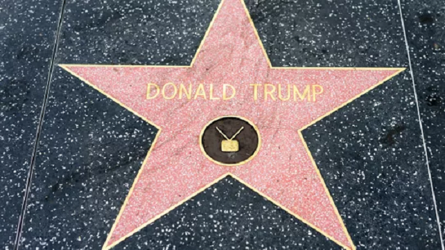 Donald Trump's Star Been Returned To Hollywood Walk Of Fame