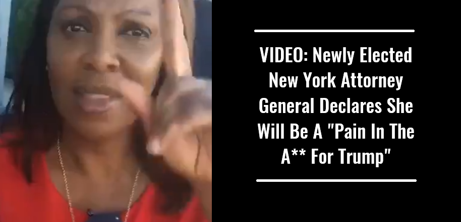 VIDEO Newly Elected New York Attorney General Declares She Will Be A Pain In The Ass For Trump