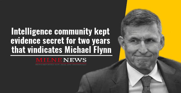 Intelligence community kept evidence secret for two years that vindicates Michael Flynn