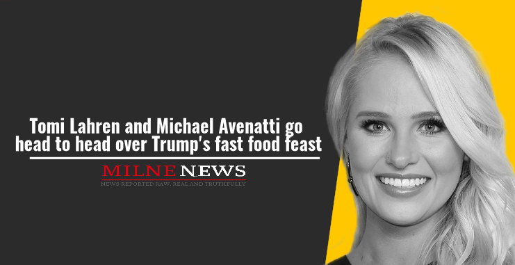Tomi Lahren and Michael Avenatti go head to head over Trump's fast food feast