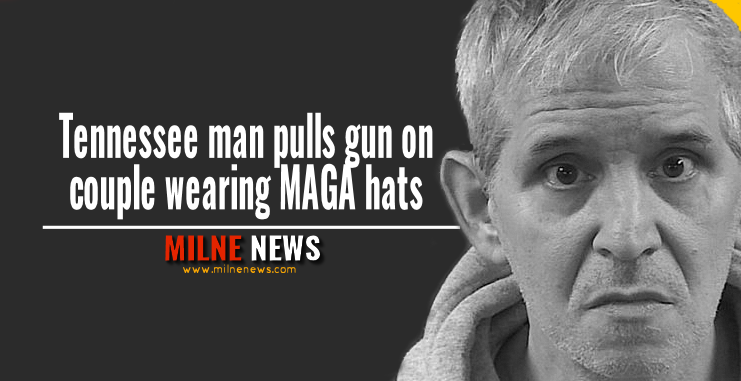 Tennessee man pulls gun on couple wearing MAGA hats