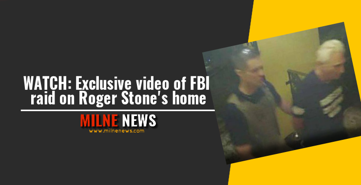 WATCH: Exclusive video of FBI raid on Roger Stone's home