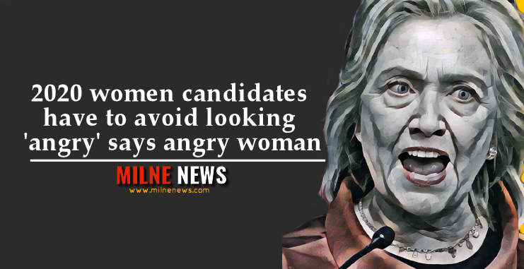 2020 women candidates have to avoid looking 'angry' says angry woman