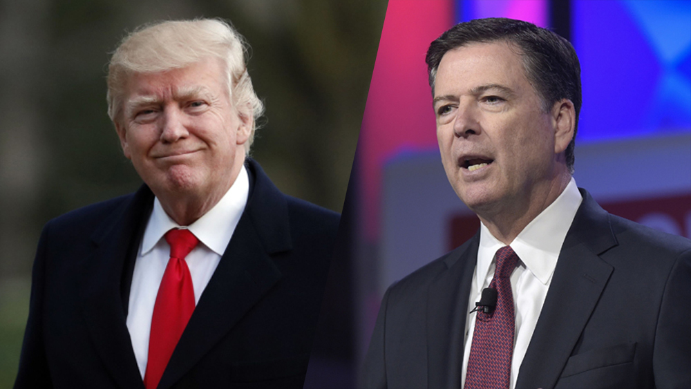 Comey slams Trump and his supporters, So Trump hits back harder