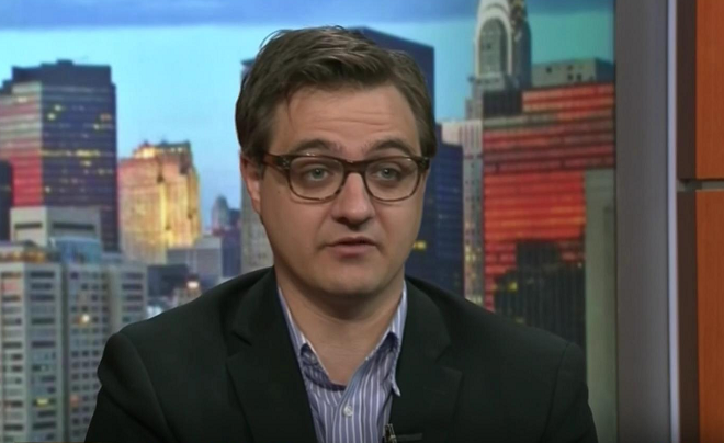 MSNBC's Chris Hayes never cared about separated families before
