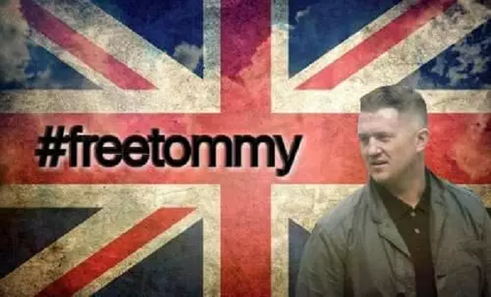 Thousands of British citizens gather in London for 'Free Tommy Robinson' rally