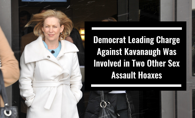 Democrat Leading Charge Against Kavanaugh Was Involved in Two Other Sex Assault Hoaxes