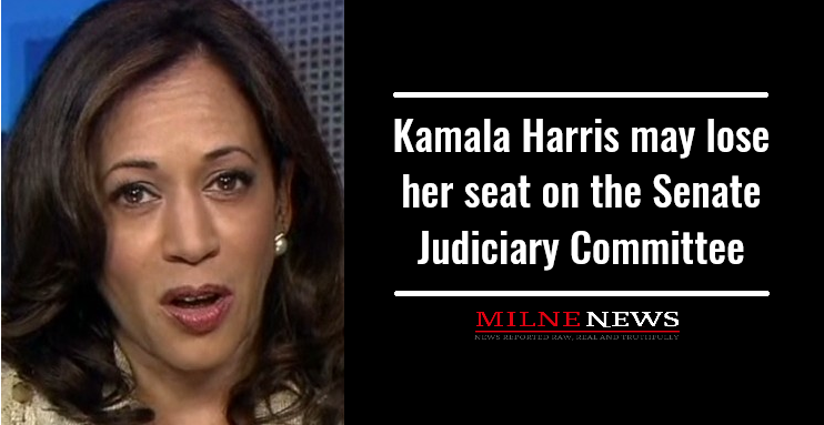 Kamala Harris may lose her seat on the Senate Judiciary Committee