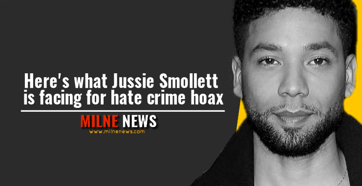 Here's what Jussie Smollett is facing for hate crime hoax