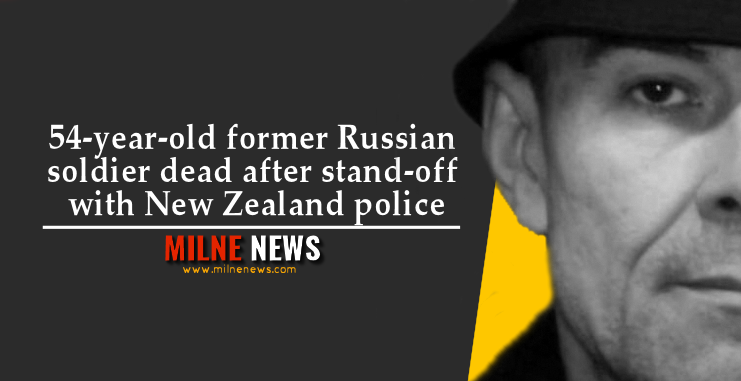 54-year-old former Russian soldier dead after stand-off with New Zealand police