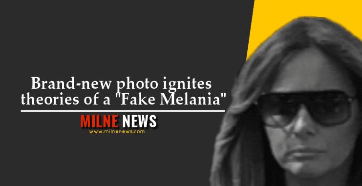 "Brand-new photo ignites theories of a ""Fake Melania"""