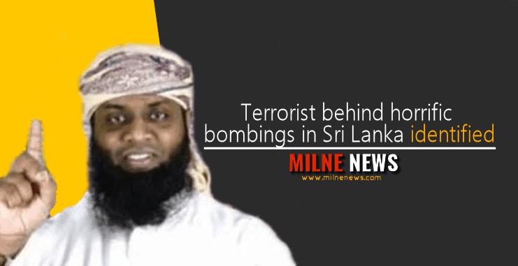 Terrorist behind horrific bombings in Sri Lanka identified