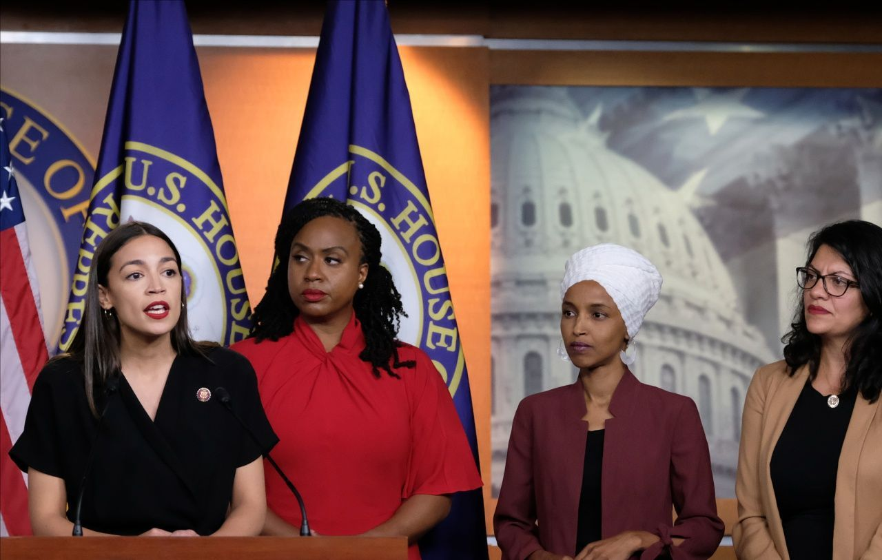 The squad are literally what they accuse President Trump of being