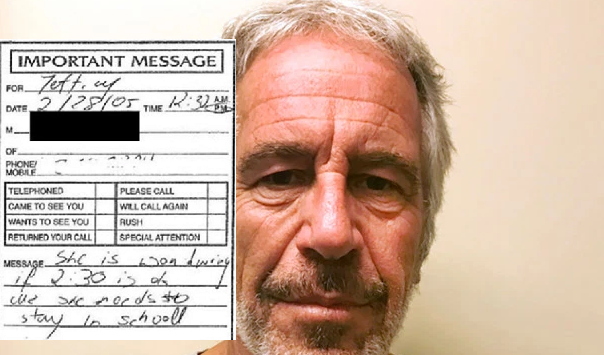 Document dump reveals creepy phone messages left for pedophile Jeffrey Epstein