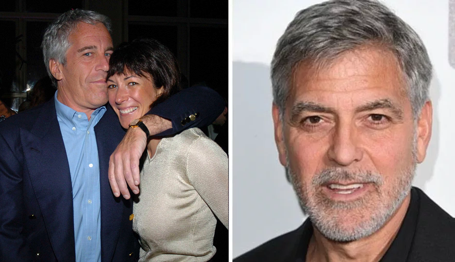 Epstein's ex-lover boasted about performing sex act on George Clooney in a toilet