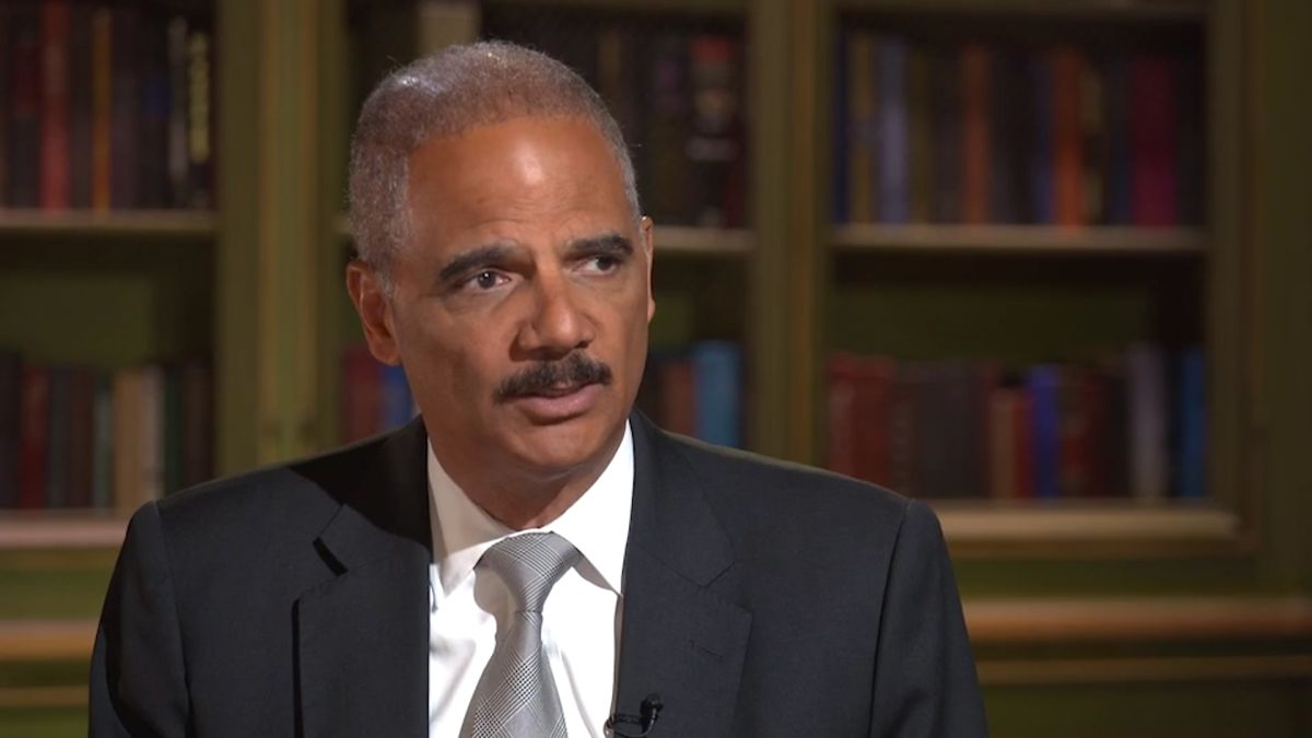 Eric Holder tells Democrats: 'Borders mean something' and they need to propose 'realistic' immigration policies