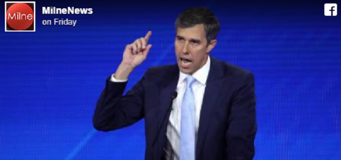 Facebook censors Milne News page AGAIN after Beto O'Rourke post