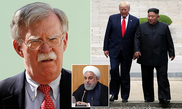 John Bolton hits out PresidentTrump during a private lunch