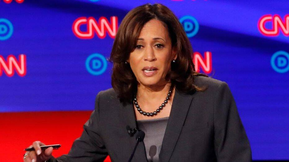 Kamala Harris claims she sued Exxon Mobil' as California AG, but she didn't