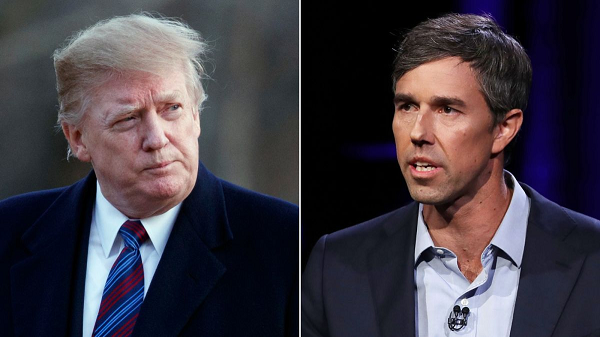 President Trump warns 'Dummy Beto'