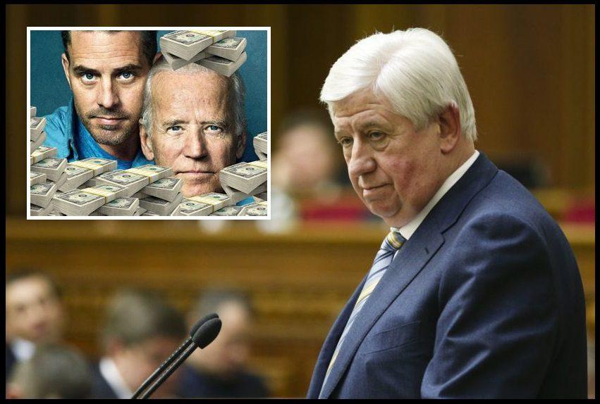 Ukrainian Prosecutor Testified That Biden Got Him Fired to Stop Investigation Into Son's Firm